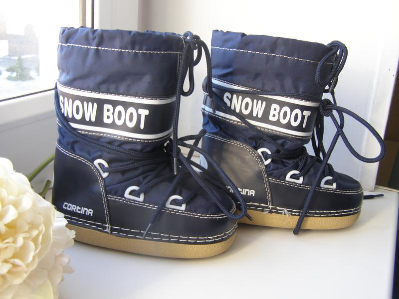 Snow boot cortina сапоги сноубутсы, луноходы 24-26-размер
