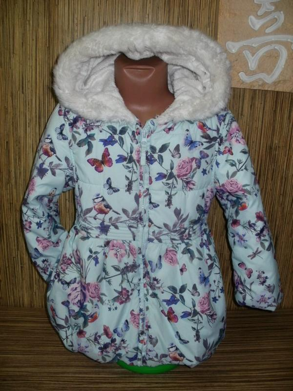 Теплая куртка на 5-6 лет