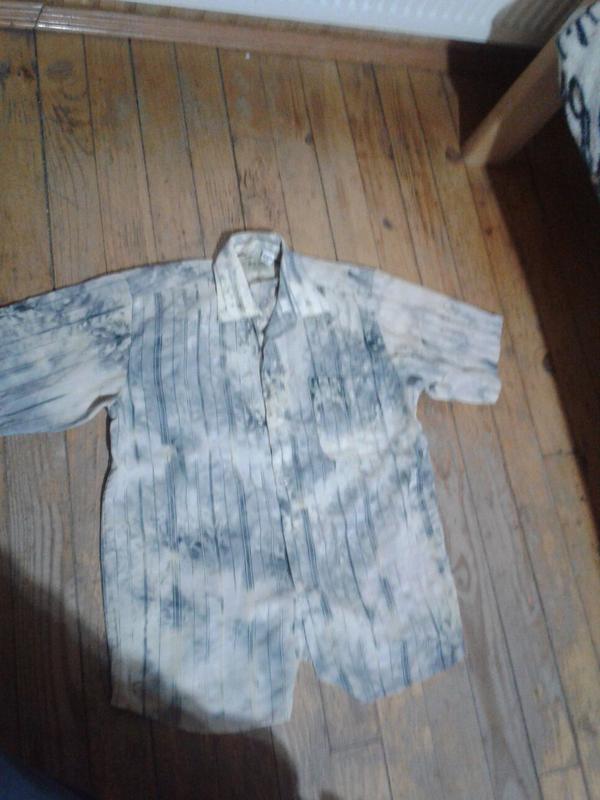 Рубашка с материала типо ситец
