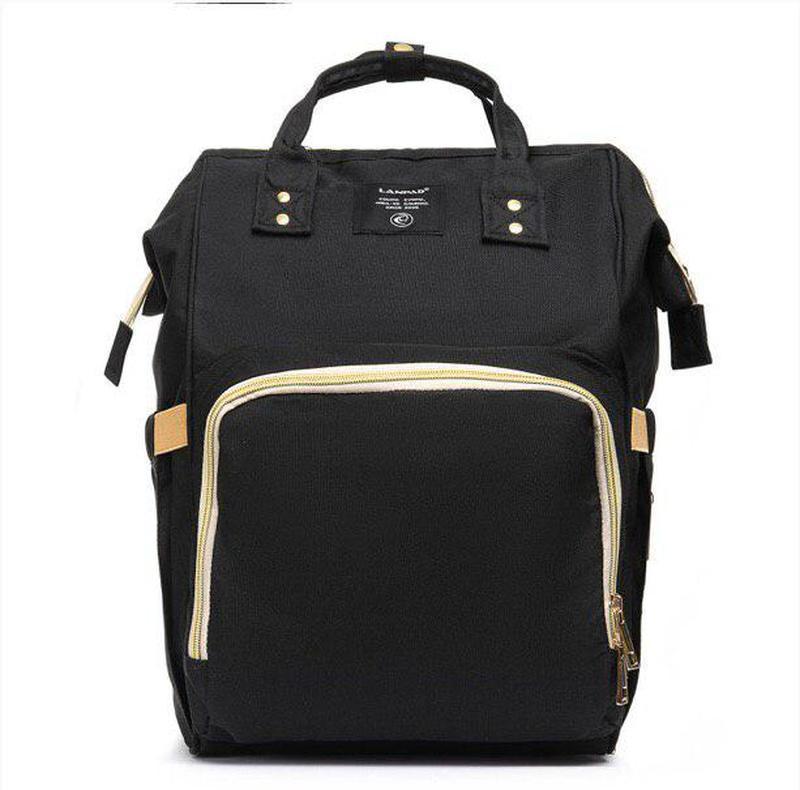 Шикарный женский рюкзак органайзер lanpad в черном цвете 😍