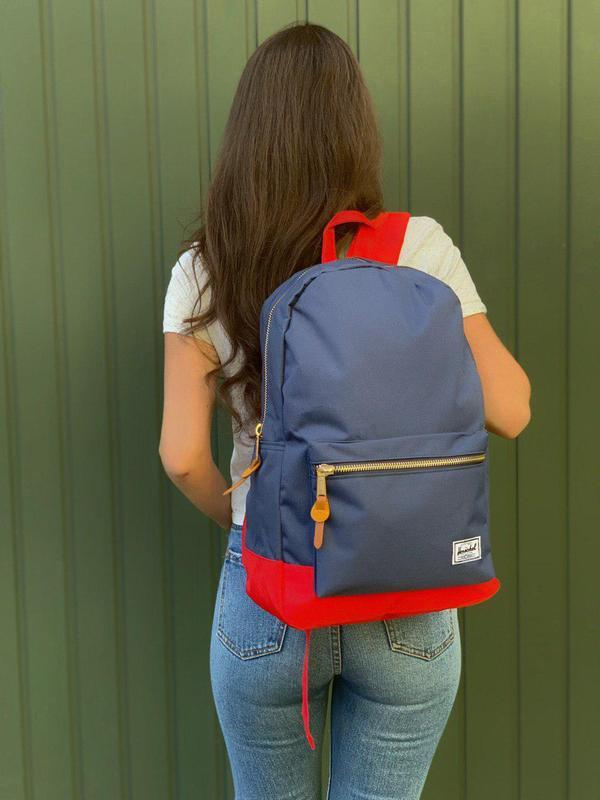 Красивый и практичный рюкзак herschel в синем цвете 😍