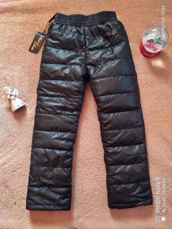 Зимние штаны на синтепоне и флисе, термоштаны
