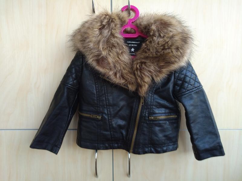 Куртка косуха y.d на 2 года