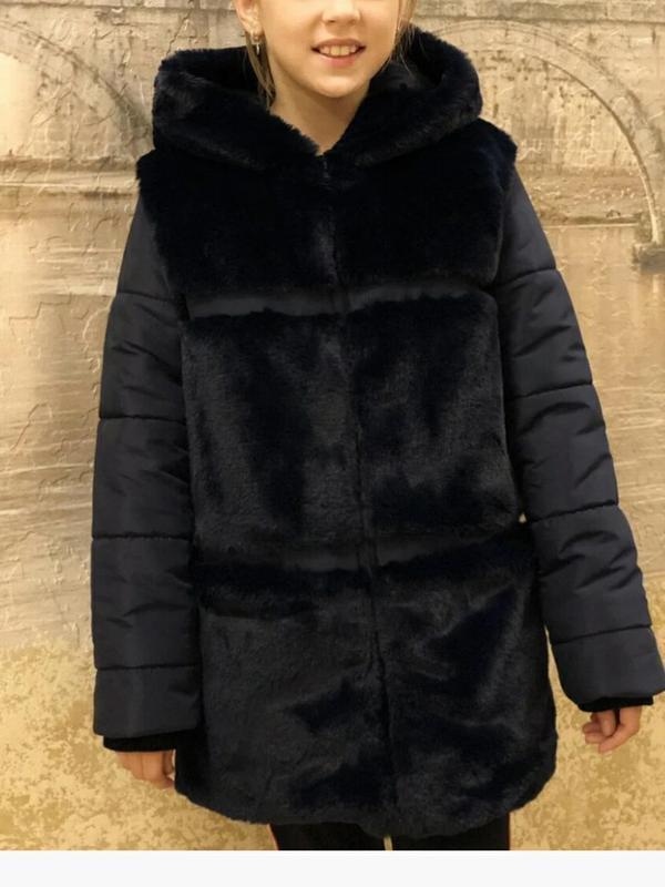 Шубка зимняя детская подростковая
