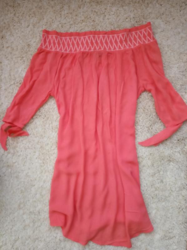 Яркая блуза туника блузка new look