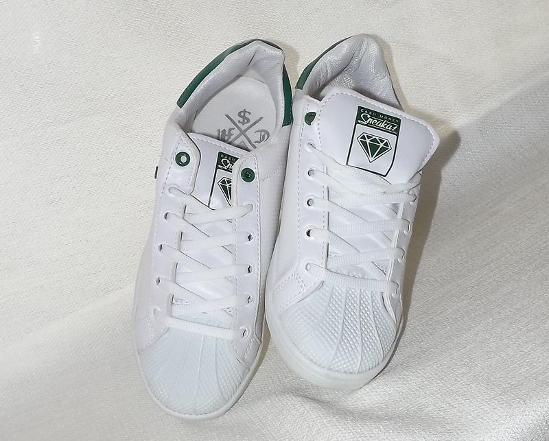 Криперсы кроссовки белые французский бренд cash money