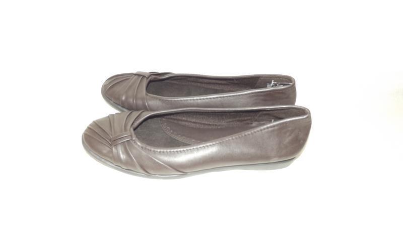 Туфли женские на низком ходу коричневые easy street 39 размер