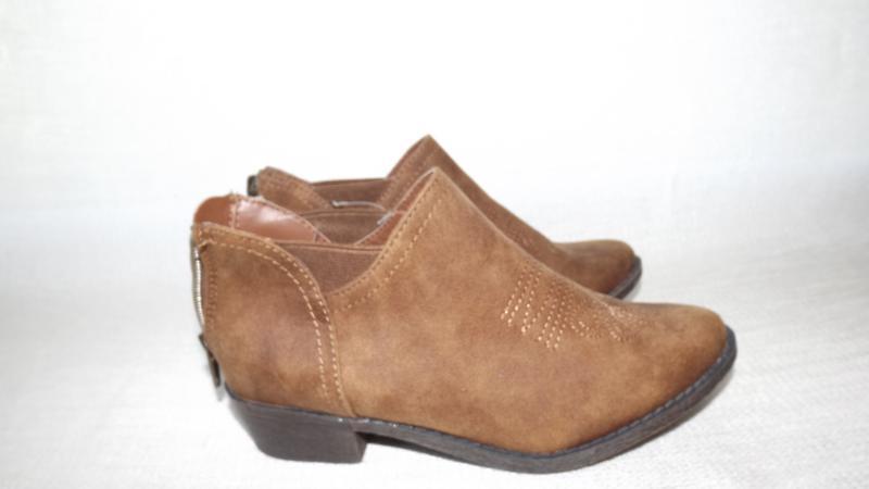 Ботинки коричневые cat19,5; 20,21 стелька