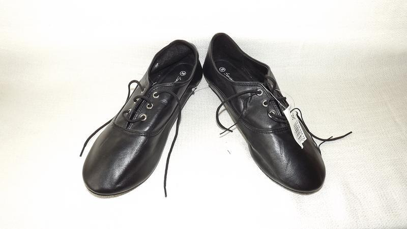 Туфли savannah закрытые на шнурках 38 размер, 24,1 стелька