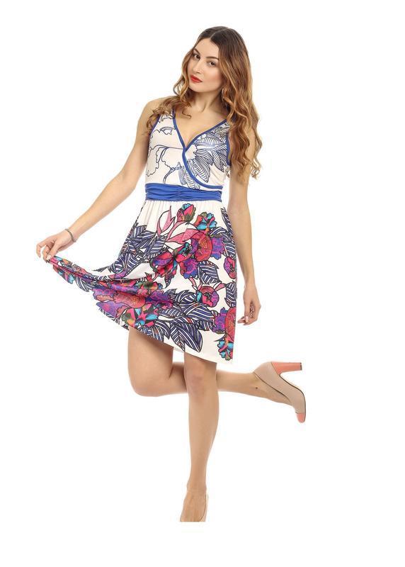 Платье хлопок цветное размер м
