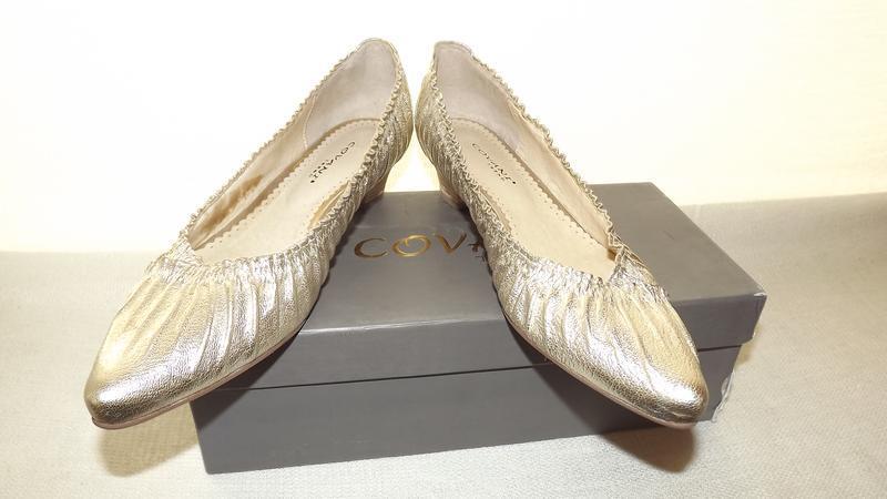Туфли кожаные covani , 36 размер