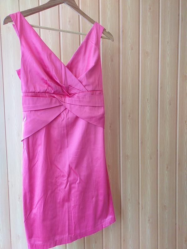 Сарафан платье коралловое s -m