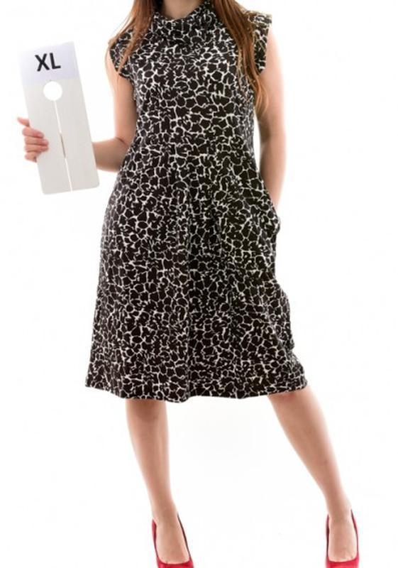 Платье деловое плотное conbipel италия l (коричневое, красное)