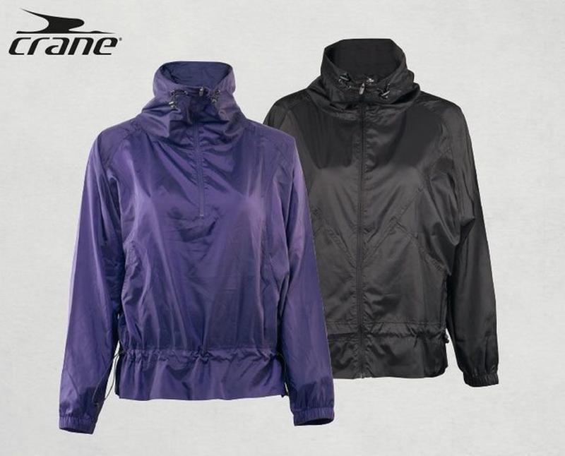 Куртка спортивная ветровка crane techtex speed германия  фиоле...