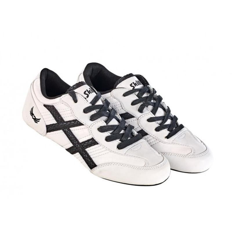 Туфли спортивные женские cortina белые/черные