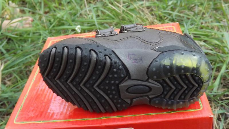 Кроссовки кожа мальчику светяться fisher price 20,21,22 размер - Фото 5