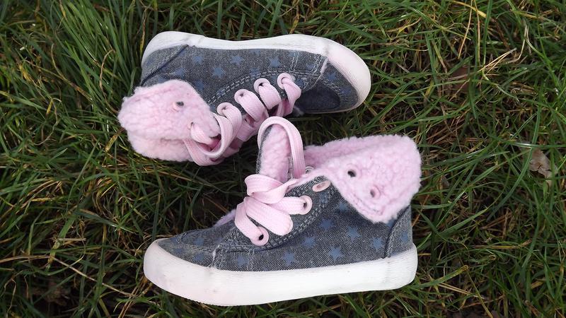 Ботинки, кеды утепленные 20/21 размер