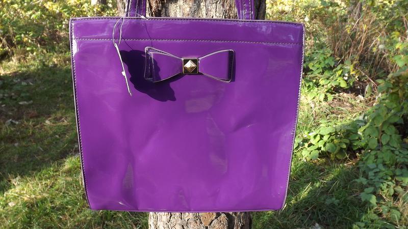 Сумочка фиолетовая fashion only