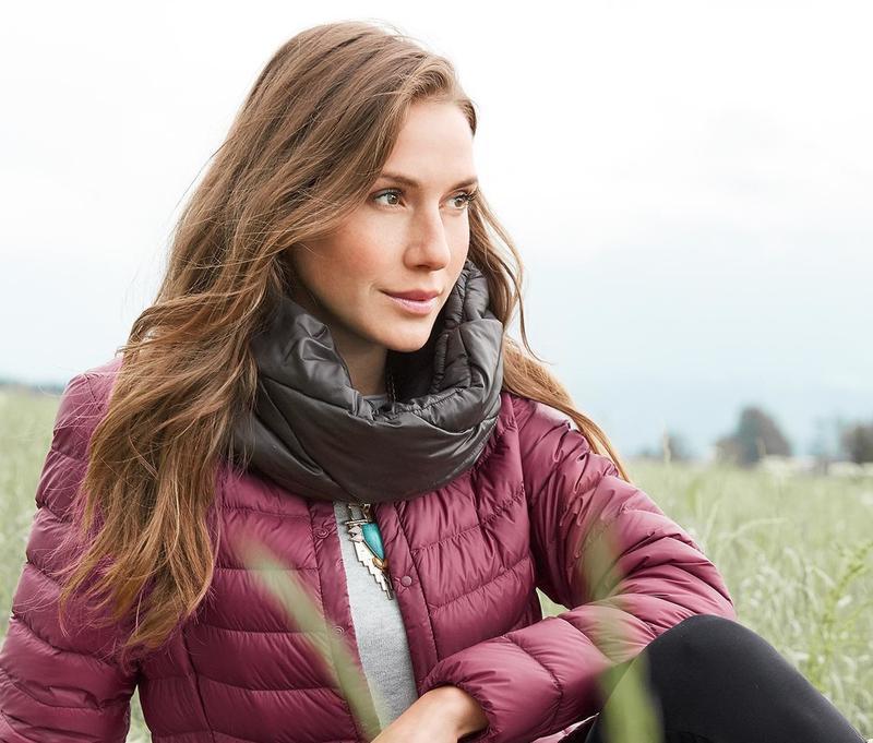 Теплый хомут-шарф tcm tchibo німеччина, розмір універсальний