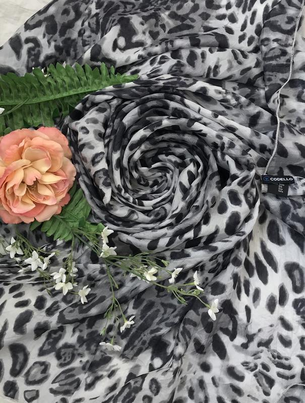 Стильный ♥️😎♥️ шелковый шарф палантин из шёлка codello.