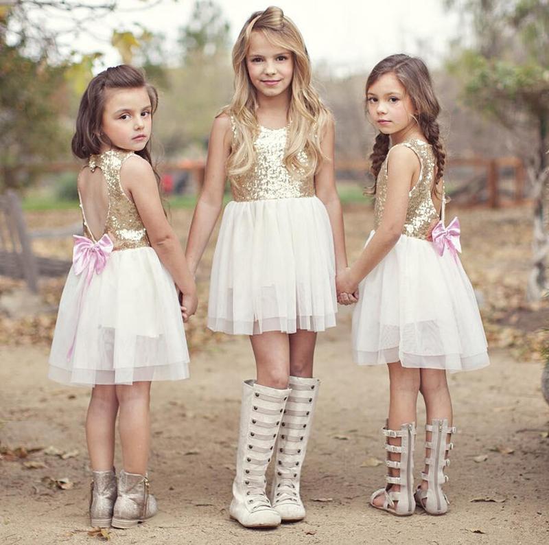 12-34 нарядное красивое детское платье на выпускной праздник у...