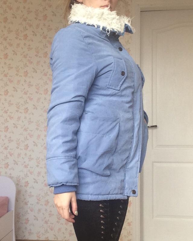 Куртка легкая теплая осень зима