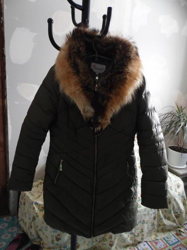 Пальто зимове на холофайбері visdeer