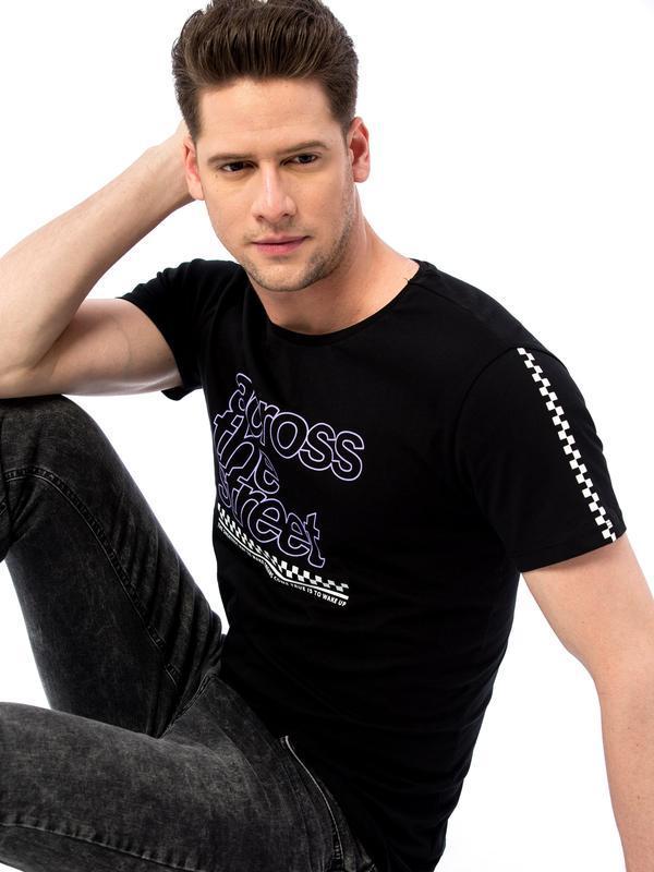 16-116 lcw новая фирменная мужская футболка размер м хлопок