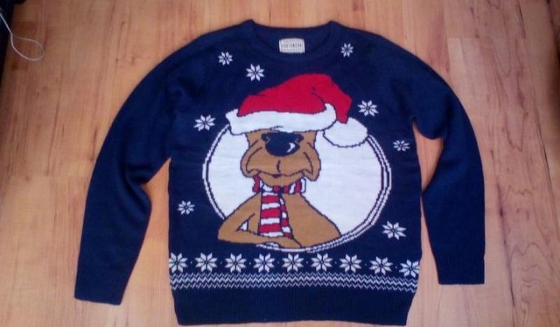 Новогодний свитер, свитшот