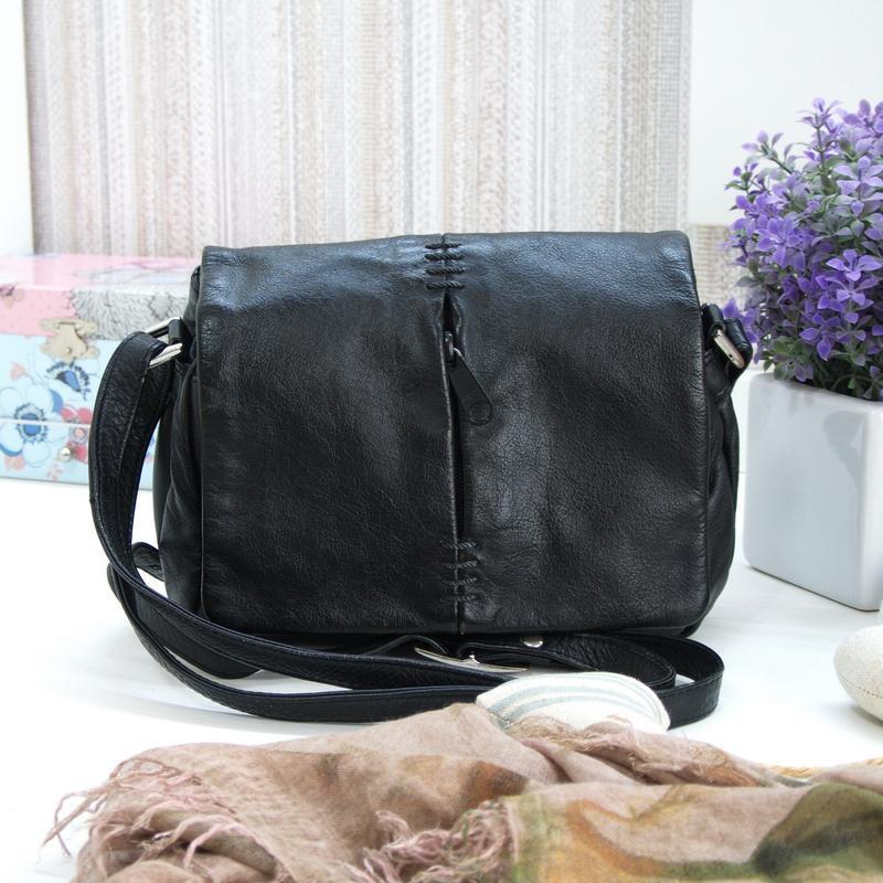 Уникальная сумка 5th avenue, натуральная кожа
