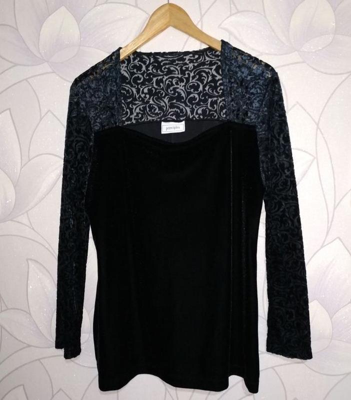 Блуза велюровая, бархатная