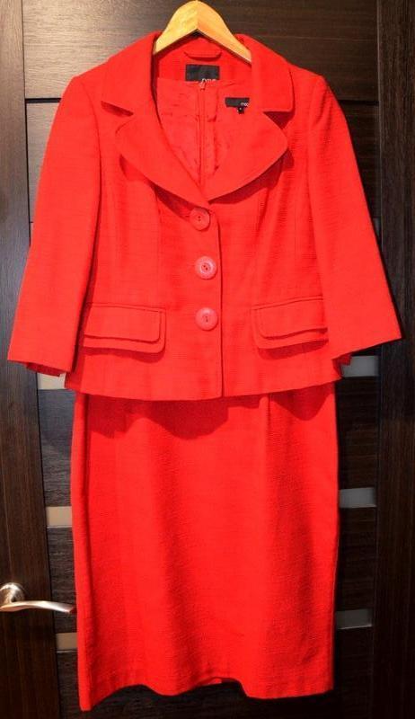 Костюм двойка, пиджак, платье