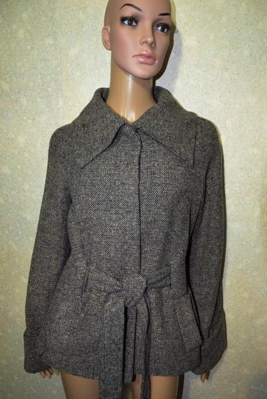Базовое шерстяное пальто, пиджак