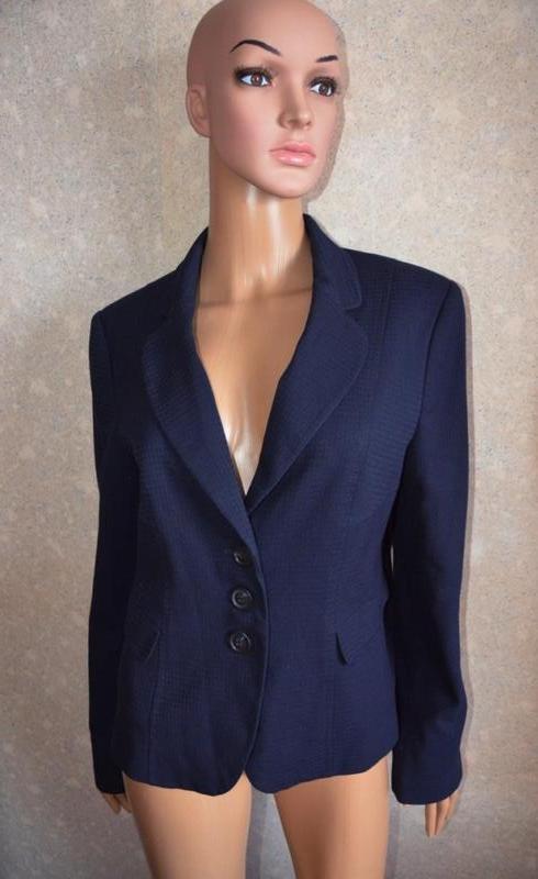 Базовый пиджак, ткань гусиные лапки