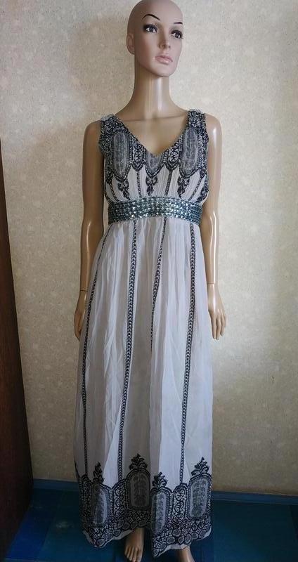 Платье шифоновое, сарафан летний