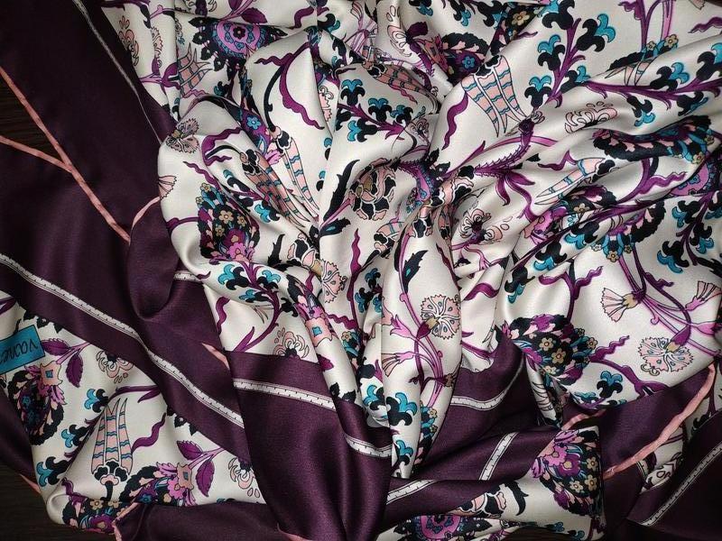 Большой шелковый платок рауль