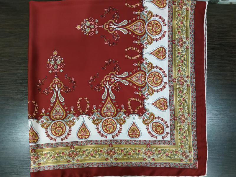 Большой шелковый платок, рауль