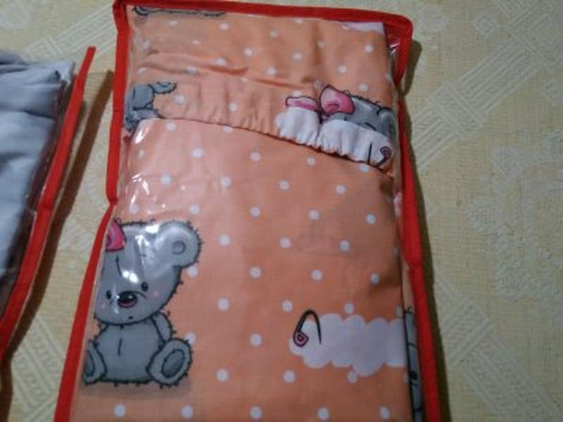 Простинь на резинке в детску кроватку,на матрас размером 120*60 - Фото 8