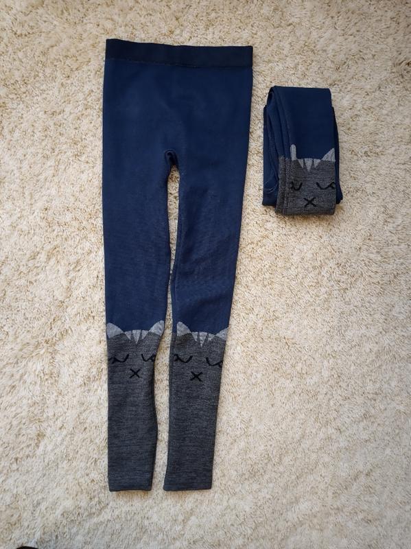 Лосины с котами леггинсы штаны