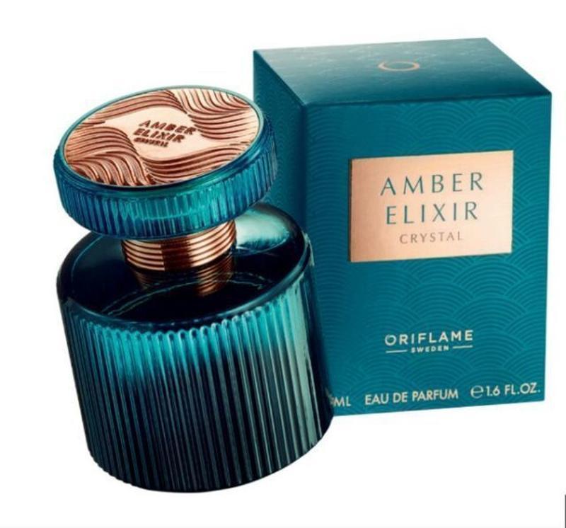 Парфюмерная вода духи amber elixir crystal код 33044 орифлейм