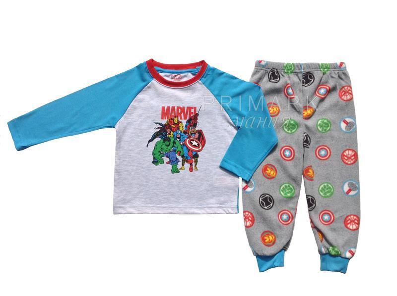 "Пижама для мальчика ""марвел"" (1.5-7 лет) marvel"