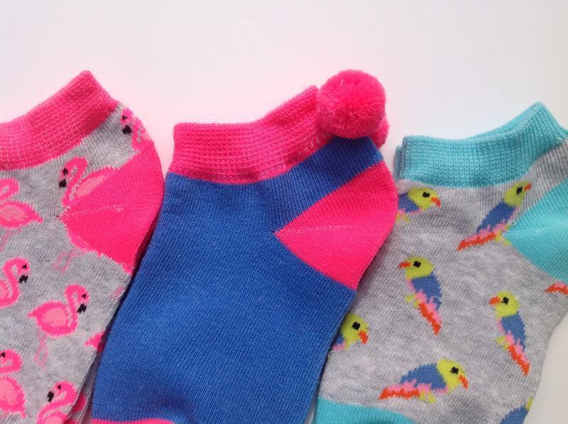 Низкие носки 5 шт (37 - 40 евр) primark - Фото 2