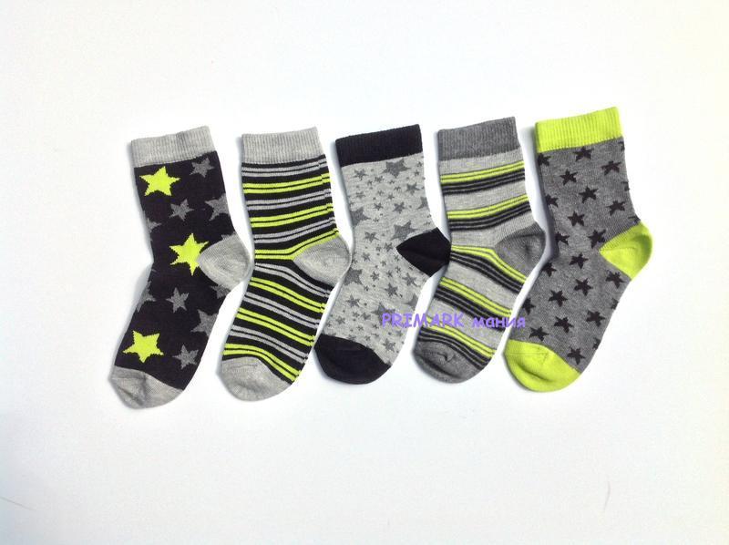 Носки для мальчика 23-30 primark