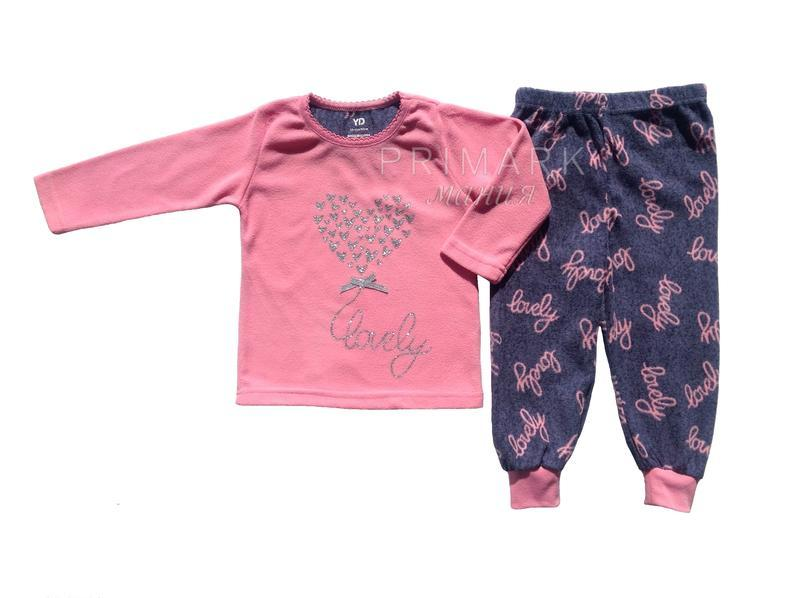 Пижама флис для девочки (98, 110 см) primark
