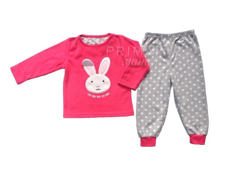 Пижама флис для девочки (92, 110 см) primark