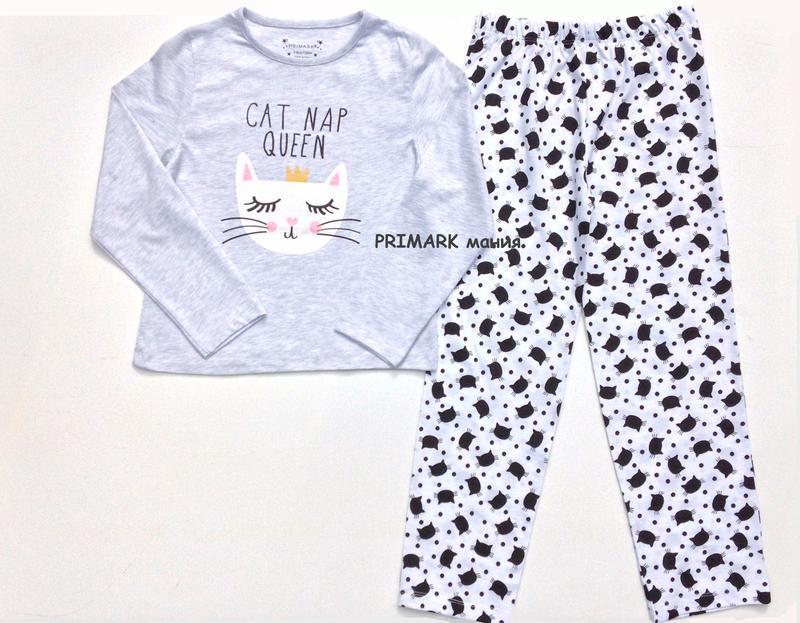Трикотажная пижама для девочки (8-12 лет) primark