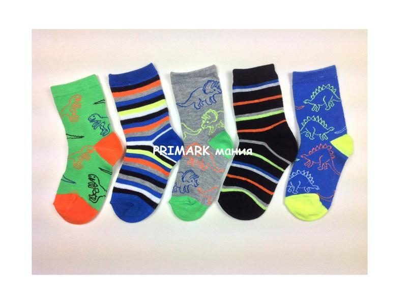 Носки для мальчика динозавры primark