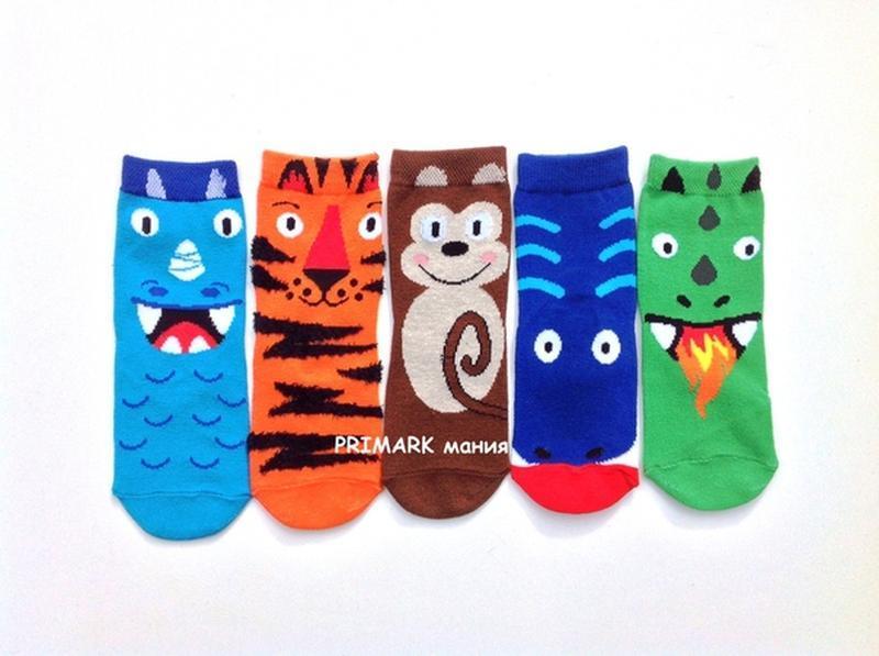 Носки для мальчика 5 шт primark
