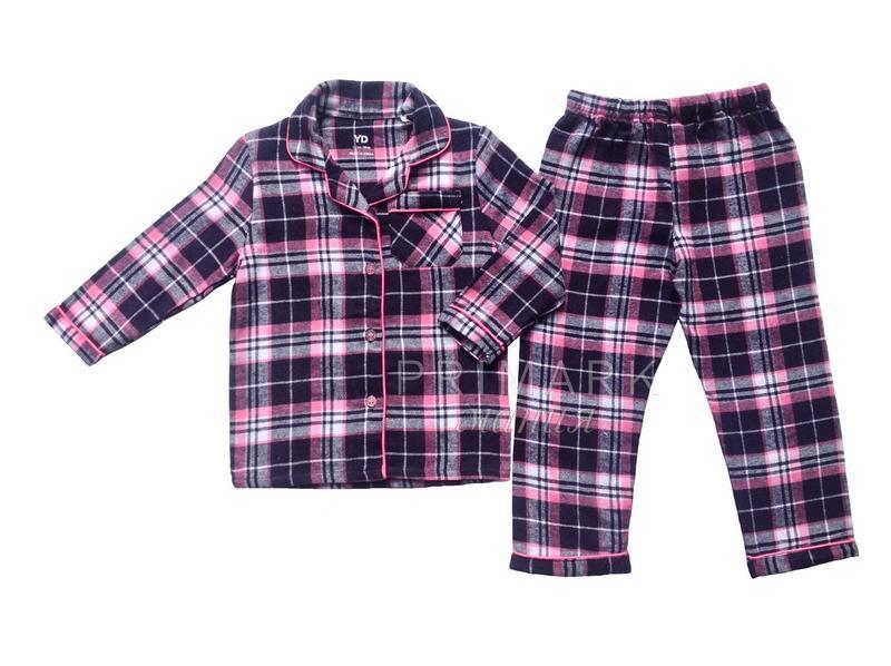 Байковая пижама для девочки (2-10 лет) primark