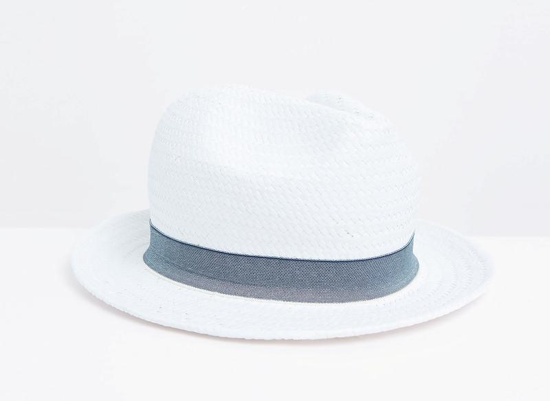Шляпа с лентой для мальчика (56 см) zara